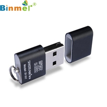 Binmer Sim Card Readers 1 High Speed USB 2.0 Micro SD TF T-F