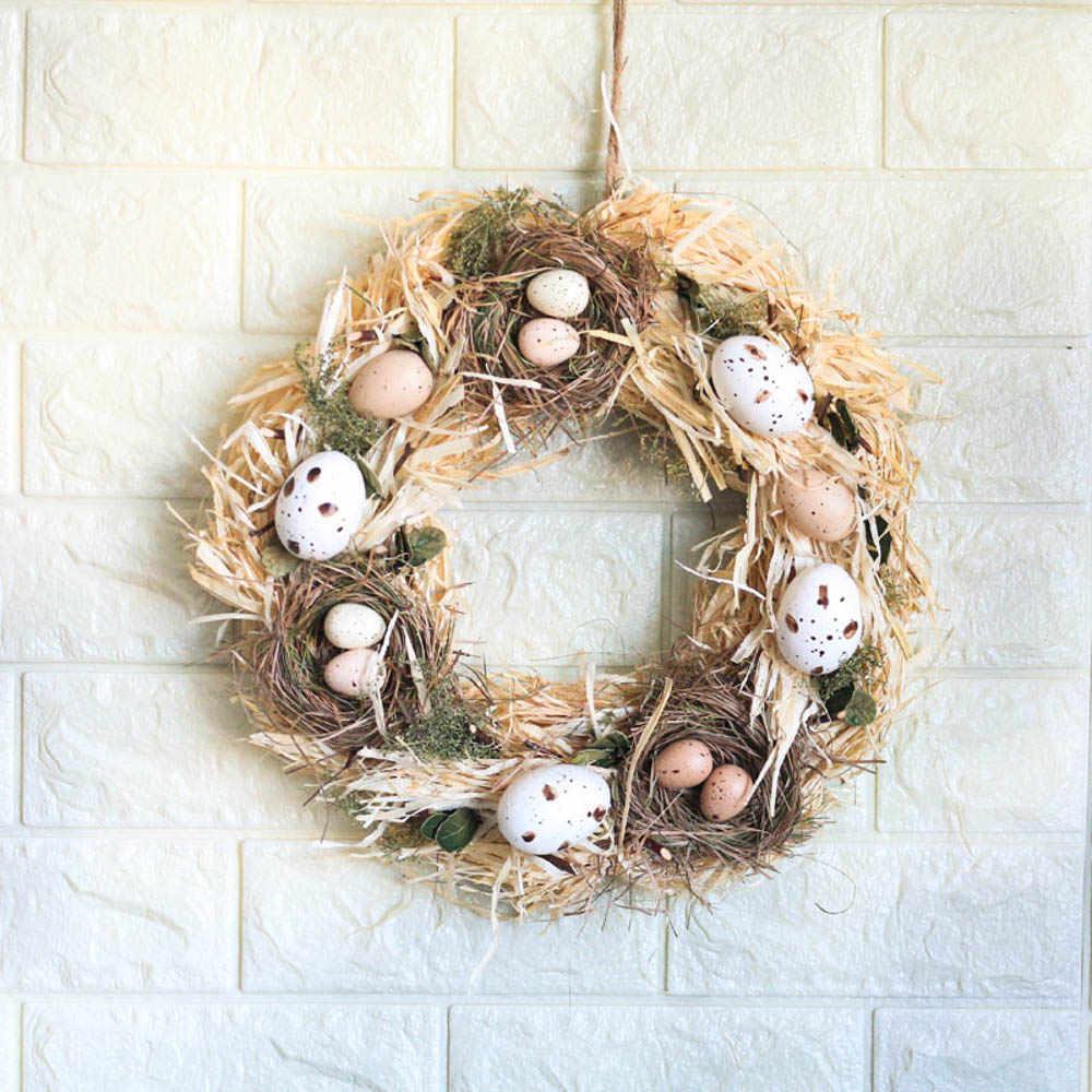 Handmade Spring Summer Wreath Door Home Decoration Accessories