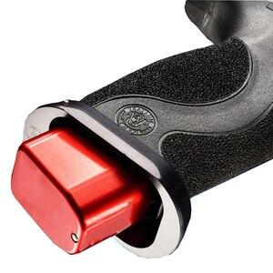 Image 5 - Tactique CNC En Aluminium Mag Magazine Base Extension Pad kit adapte pistolet Smith & Wesson M & P + 5/6 9/40 pour La Chasse Accessoire