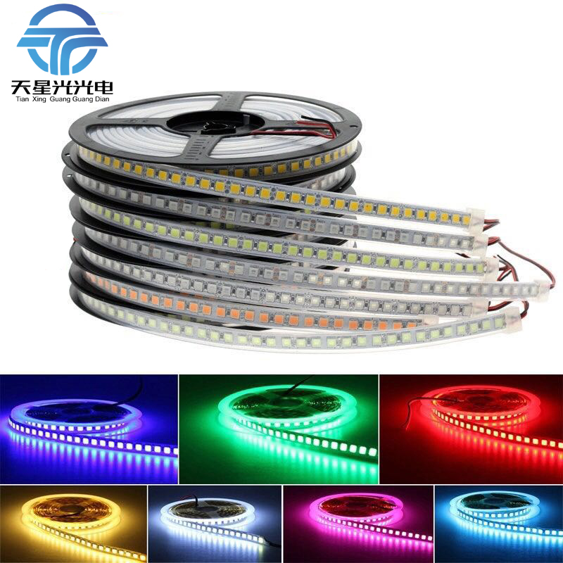 5054 LED Strip Light 120Leds/m Non Waterproof /Waterproof Ice Blue/white/Warm White DC 12V Brighter Than 5050 5630 2835