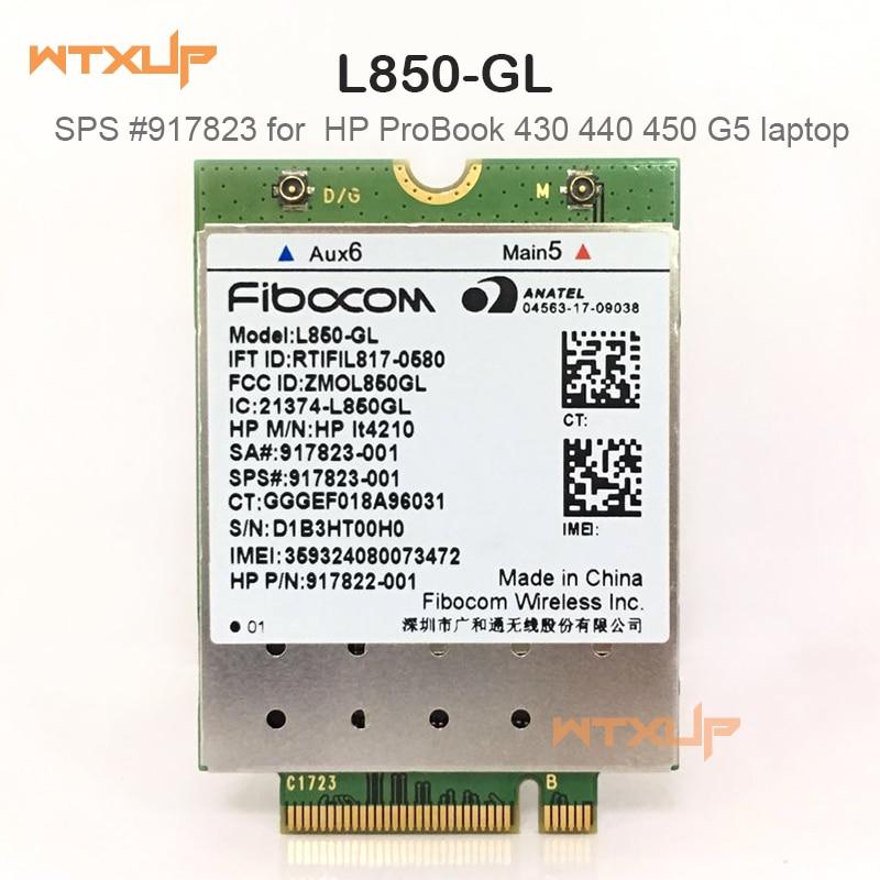 4G wireless card for Fibocom L850 GL LT4210 M 2 LTE FDD LTE TDD WCDMA cat9