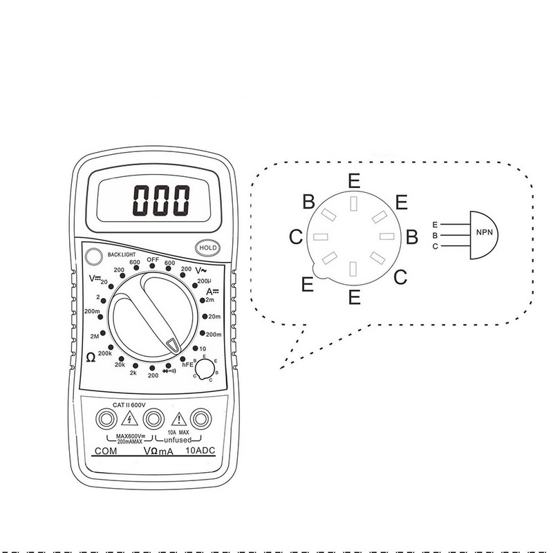 Detail Feedback Questions About Urijk Dt850l Portable Multimeters