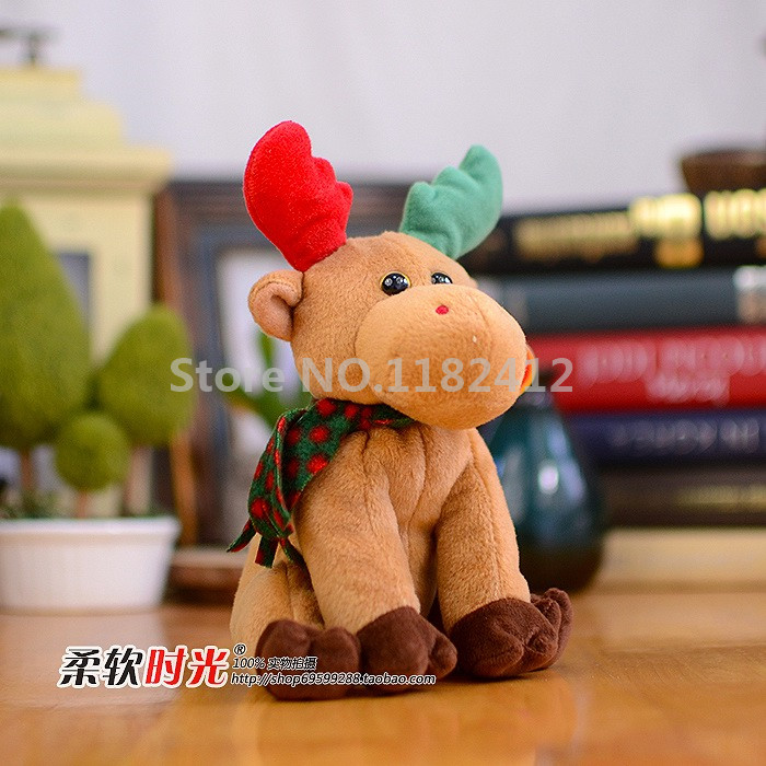 Ty Beanie Babies Plush Animals Harold Christmas Moose Stuffed Animal