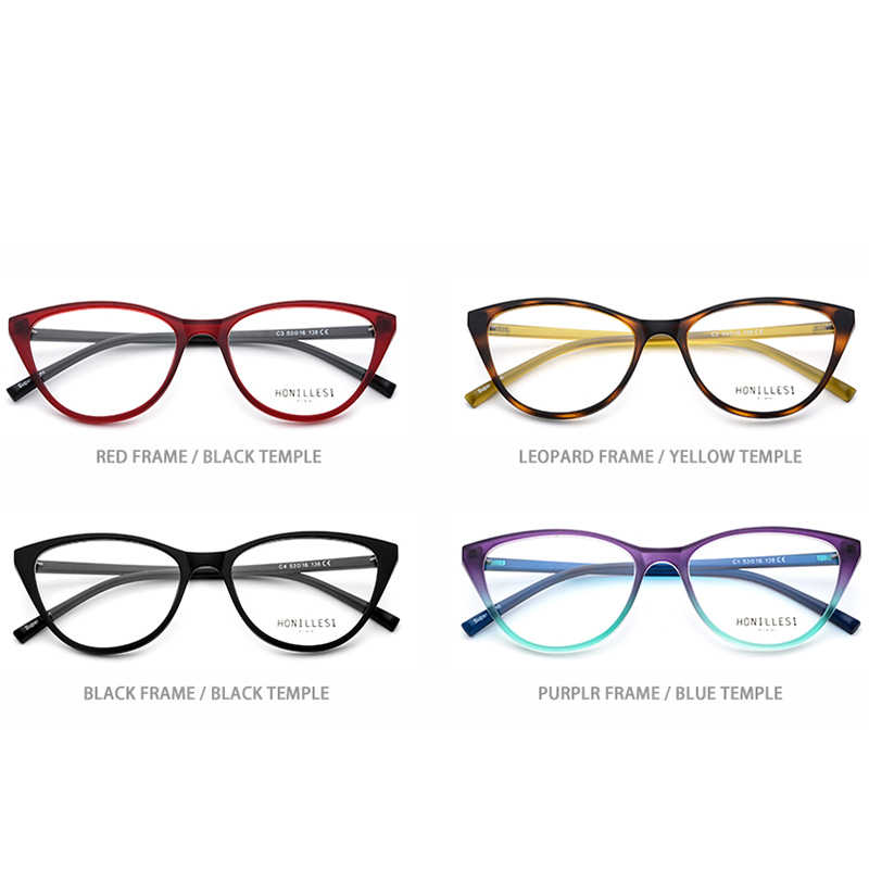 03c28965f30a0 ... TR90 Prescription Glasses Frame for Women Eyeglasses 2018 New Myopia  Optical Frames Woman Cat Eye Transparent ...