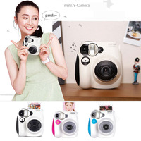 Fujifilm Instax Mini 7s Instant Film Photo Camera Blue Pink Black Free Shipping, Accept Fuji Fujifilm Instax Mini Films