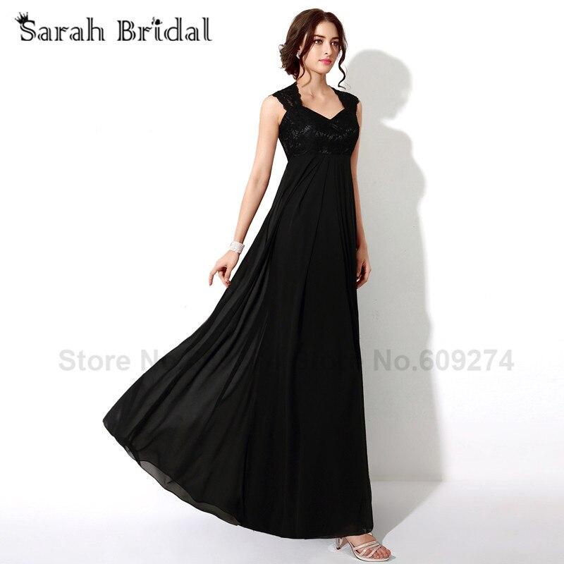 727a39e07d1 Black Lace Prom Dresses Long 2017 In Stock Vestido De Fiesta Negro Elegant  Women Formal Evening Dress See Through Back SD190