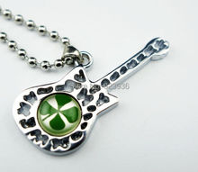 FREE SHIPPING 10 PCS St. Patrick's Day Real  four Leaf Lucky Clover Necklace Cute Present Stainless Steel Ball Bead 70 CM Chain стоимость
