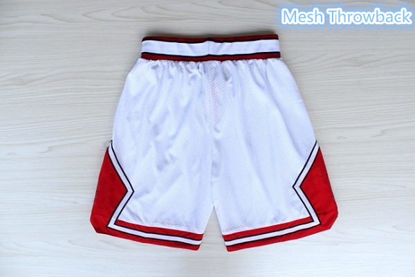Basketball Shorts 96 all Star Shorts 23 Jordan 33 Pippen 91 Rodman White  Red Black Stripes Basketball Short Top Quality-in Basketball Jerseys from  Sports ... 64525aa10
