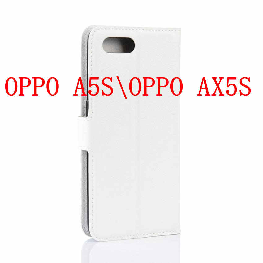 Estojo de couro Para OPPO AX5S A5S Cobre Oposto F11 Pro Reyno 3 Pro Reyno XLite Caso Protetor de Tela Película Protetora para OPPO F11