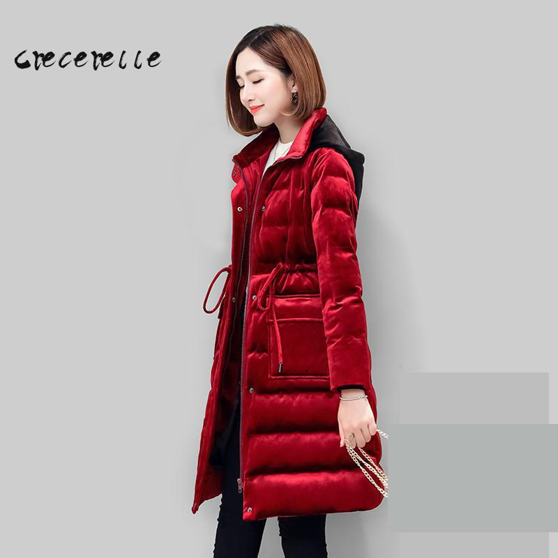 Women Plus Size Coat L-5xl Extra Plus Size Warm Suit Red Winter Necessary  Make You Thin Charming Lovely Big Size Office D504