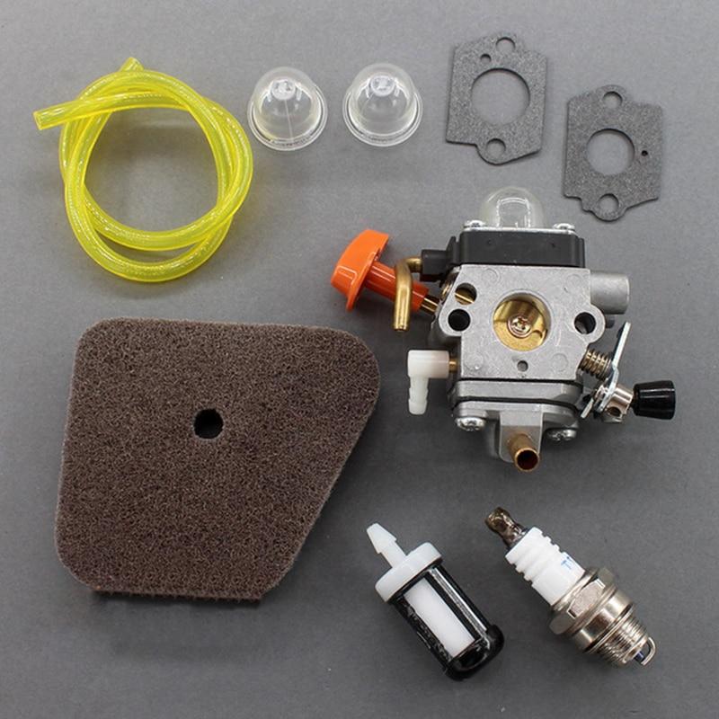 Vergaser Set für Stihl FS100R FS110 FS110R FR130T FS130 FS130R HL100 KM100 HT131