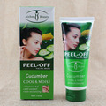 120g Cool and Moist Vitamin A and E  anti-oxidant skin revitalizing Cucumber peel off facial mask