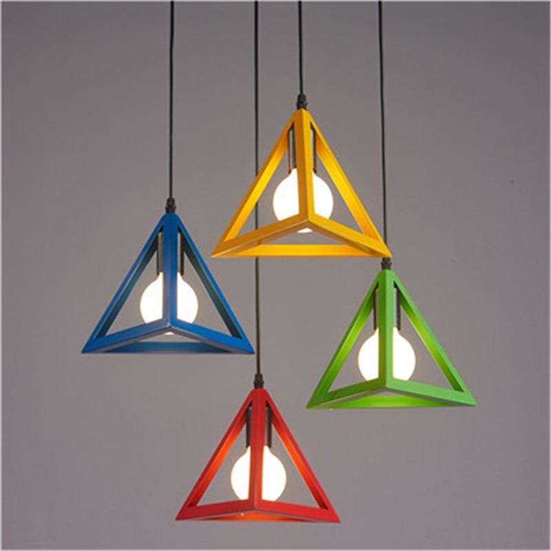 Nordic restaurace světla tři kreativní obchod s oknem bar ložnice jeden hlavu malé závěsné lampy