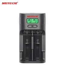 NKTECH T2 Intelligent Battery Chargers LCD 4.2V 3.6V 1.4V For Soshine 26650 18650 18500 14500 10440 AA AAA Li ion Ni MH LiFePO4