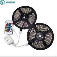 2 5M 10M LED Strip RGB 5050 SMD DC12V 60LEDs M Light Outdoor Strips Lighting With