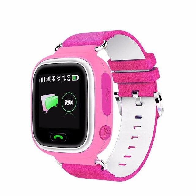 Q90 Kids Smart Watch GPS Phone Positioning Fashion Children Watch Color Touch Screen SIM Card SOS Kids Safe Monitor Wristwatch