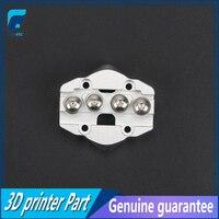3 pçs prata kossel delta mini slide effector updaded todo o metal m3 enfrentar mini transporte polia slider para peças de impressora 3d|Peças e acessórios em 3D| |  -