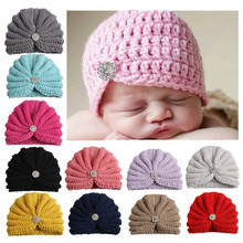 Child Women Knitted Hat Crochet Double Pompom Hat Kids Winter Caps 2018 Autumn New Fashion Heat Raccoon