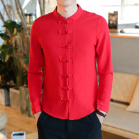 GODLIKE New Men S Shirts With Long Sleeves And Button Shirts Men S Casual Shirt Retro