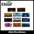 Original 11 unidades eleaf istick pico pegatinas 11 estilos colorido pico pico caja cubierta para istick mod vape cigarrillo electrónico accesorio