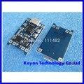 1 pcs 5 v 1a micro usb 18650 bateria de lítio de carregamento board módulo charger + funções de proteção dupla tp4056