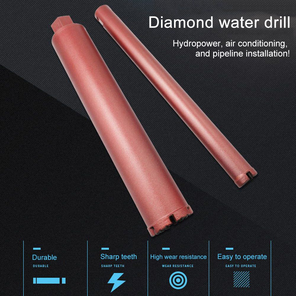 Diamond Dry Drill Bit Concrete Perforator Core Drill For Installation Of Drainage Water Pipe Seamless Pipes 16/18/56/63/76mm