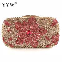 2018 Luxry Rhinestone Evening Bags Diamond Clutches Pearls Beaded Day Clutch Purse Handbags Wallet Diamonds Evening Wedding Bag