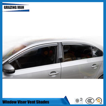 Sun visor Car accessories Window Visor Vent Shades Sun Rain Deflector Guard 4PCS/SET for Sagitar