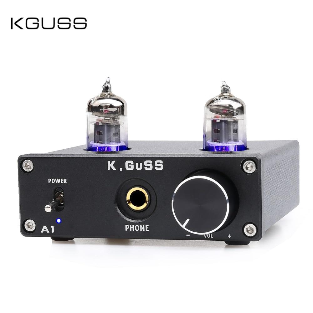K. GUSS A1 MINI 6J1 audio tube bile casque amplificateur NE5532 6K4 ampli casque