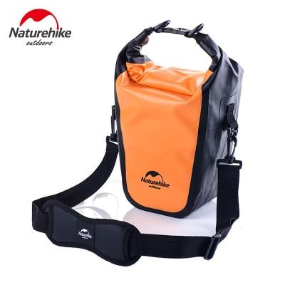 Naturehike уличная водонепроницаемая сумка для камеры SLR камера свет портативный водонепроницаемый пылезащитный наружный камера защита посылка - Цвет: Оранжевый
