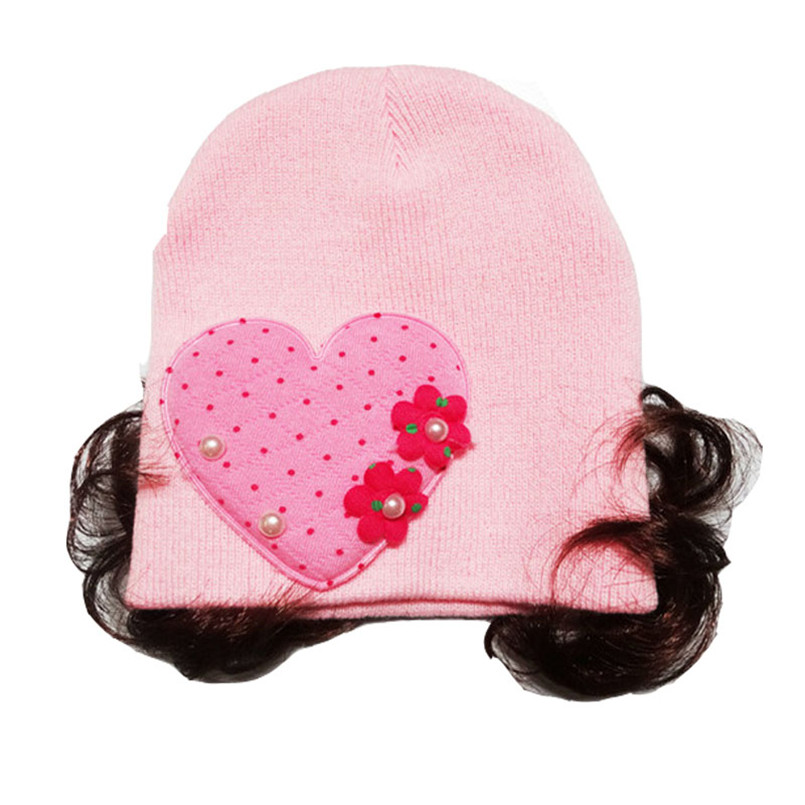 Headwear Baby Hats For Girls Baby Girls Boys Toddlers Infant Baby Headband Hair Band Headwear Wig Hat Czapki Dla Dzieci #4s3 Strengthening Sinews And Bones Accessories