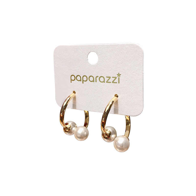 Brincos geométricos clássicos de pérola, brincos femininos de metal, joias da moda, acessórios para mulheres