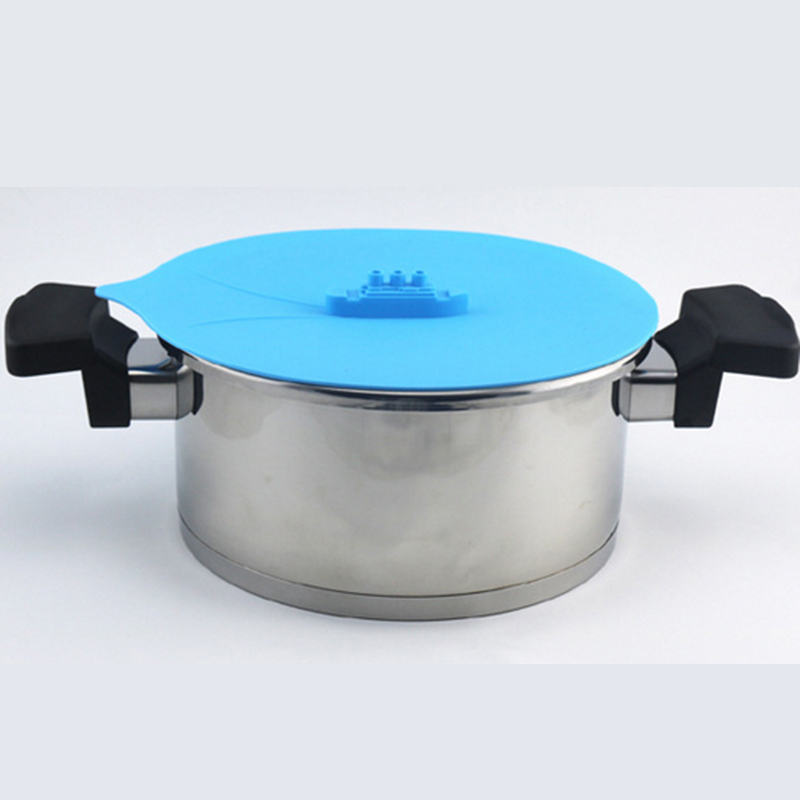 Creative Steam Ship Silicone Steamer Anti-overflow Anti-spattering Covers Microwave Oven Food-grade Silicone Drain Cover