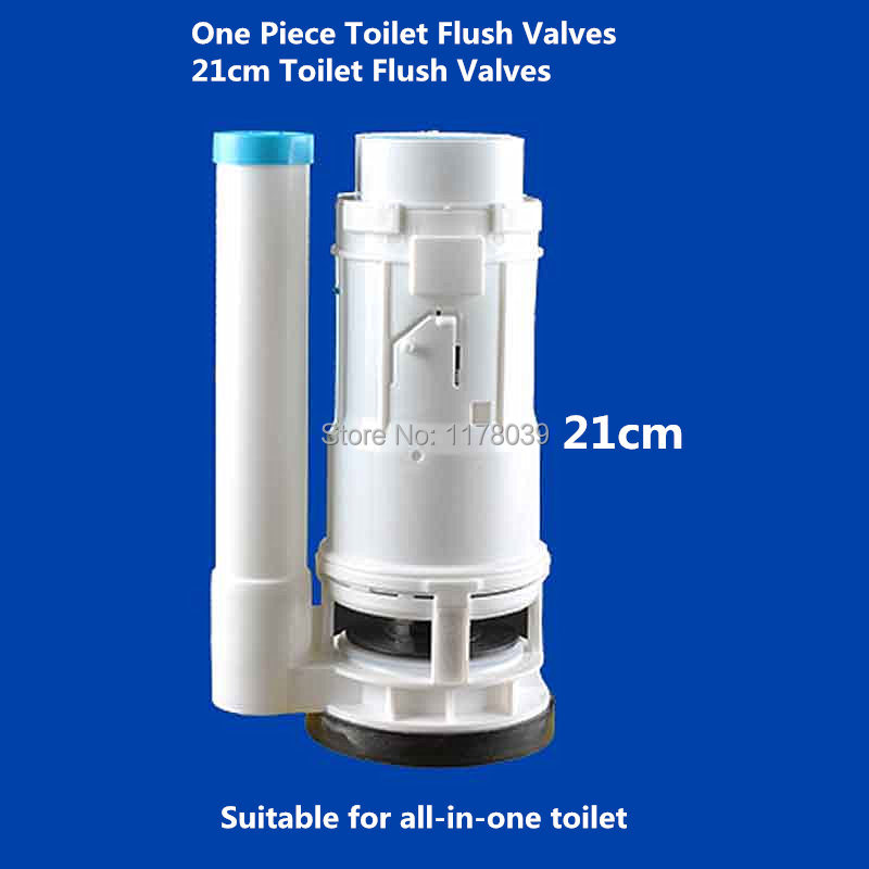 21cm One Piece Toilet Flush Valves,Toilet drain Valves Suitable for water tank height 21-26cm,toilet water tank parts,J17437