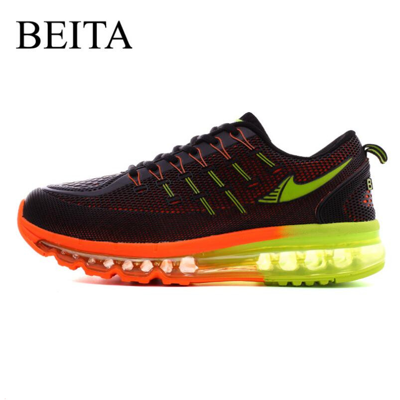 Beita Mens Running Shoes Breathable Air Cushion Outdoor Walking Sport Shoes New Mens Athletic Sport Sneakers BT1719  2017 mens running shoes breathable male outdoor walking sport shoes new man athletic sport sneakers for adults