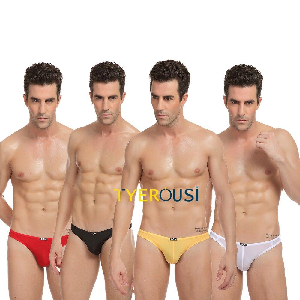 Soft Breathable Gay Sex Men Underwear U Convex Corner Gay -3509