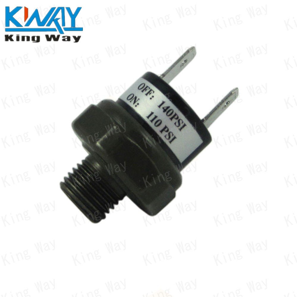 Free shipping king way 12v24v air pressure switch 110 140 psi for free shipping king way 12v24v air pressure switch 110 140 psi for train horn compressor rated in car switches relays from automobiles motorcycles on publicscrutiny Choice Image