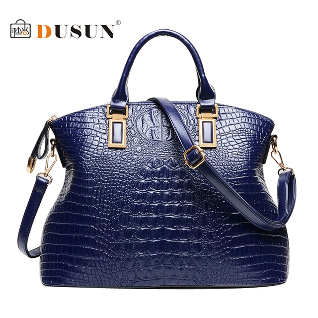 Натуральная кожа мешок женщины крокодиловая кожа сумочка Damous марка дизайнер сумки дамы свободного покроя bolsas тотализатор femininas