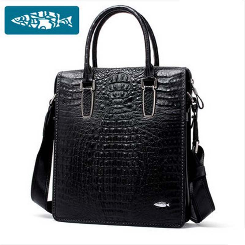 yuanyu 2018 new hot free shipping Crocodile leather men bag luxury single shoulder bag business leisure travelers men handbag yuanyu 2018 new hot free shipping crocodile women handbag wrist bag big vintga high end single shoulder bags luxury women bag