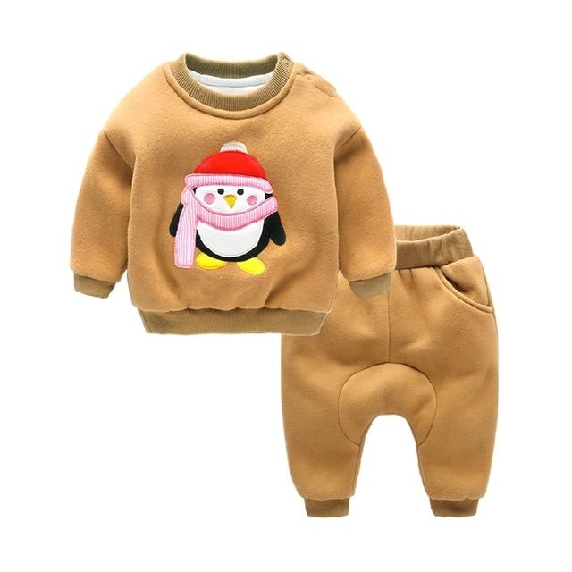 Baby Sets thickening winter newborn infant outwear