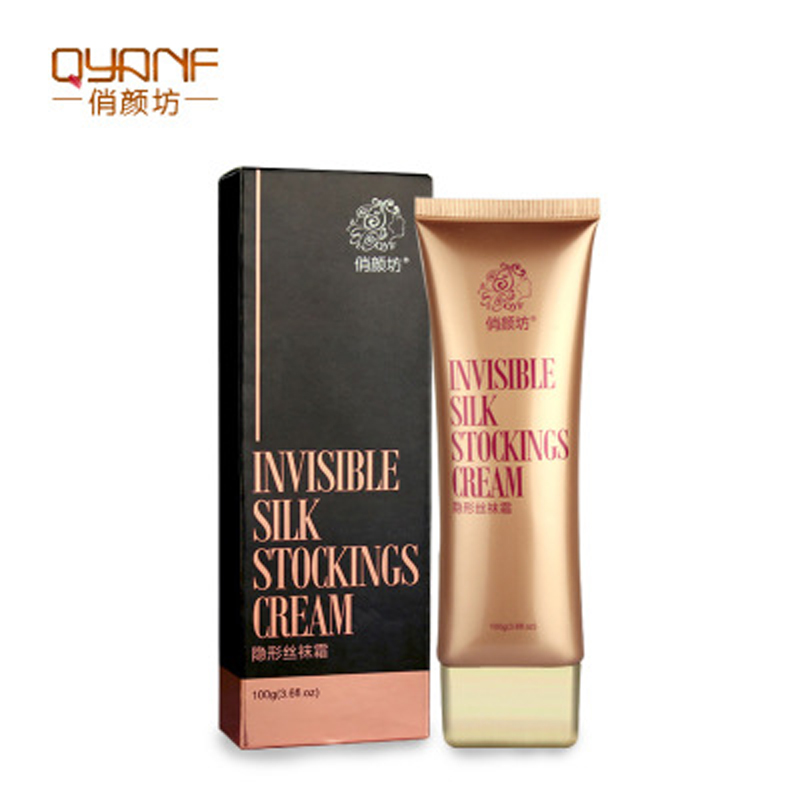 Invisible Silk Stockings Cream Whitening Moisturizing Body Concealer Natural Makeup Lighten Concealer For Women Legs Skin Care