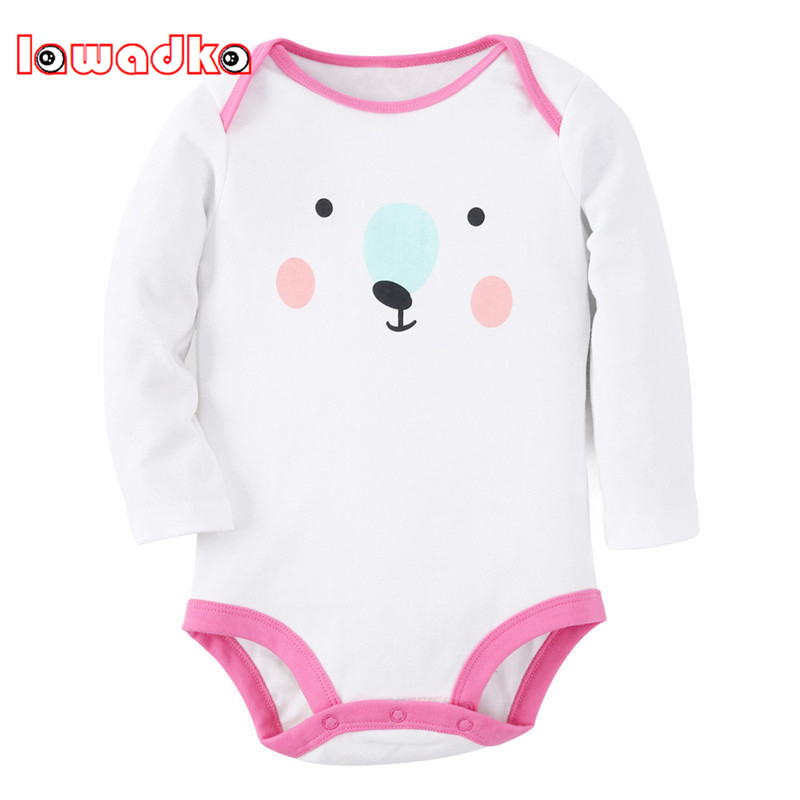 Cotton Baby Rompers Spring Autumn Long Sleeve Baby Wear Infant Jumpsuit Boys Girls Clothes Roupas De Bebe Infantil