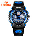HOSKA Students Electronic Watches Girls And Boys Sports Watches Luminous Waterproof Outdoor Multifunction Table