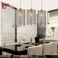 New Chrome Single Lights Crystal Pendant Lamp Dinning Table Light Dia120 H220MM With 1000MM Wires