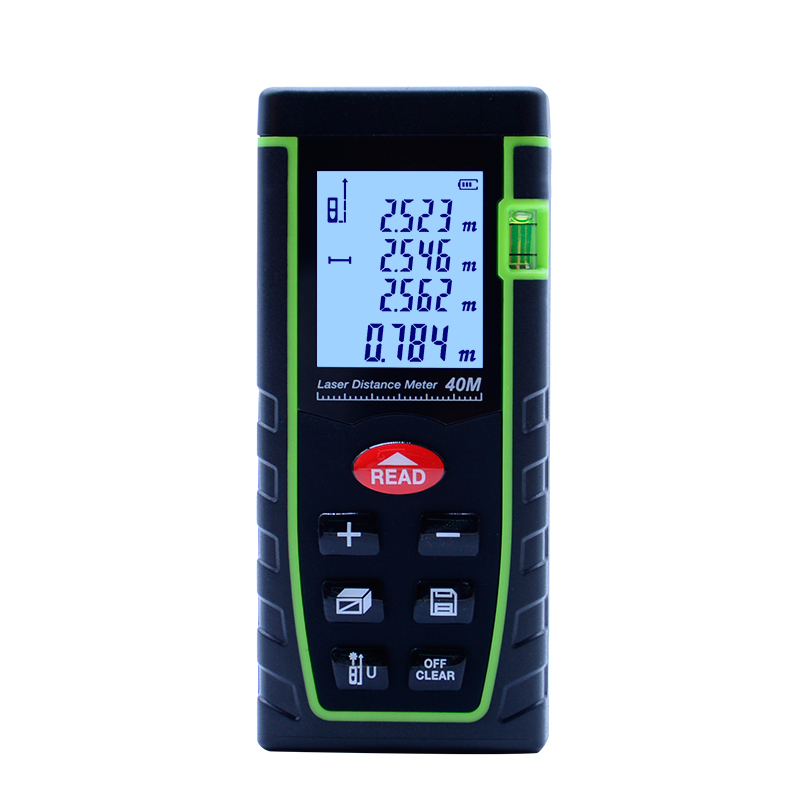 Sndway 40m laser distance meter laser rangefinder SW T40 accuracy 2mm Maximum measuring distance 40m With