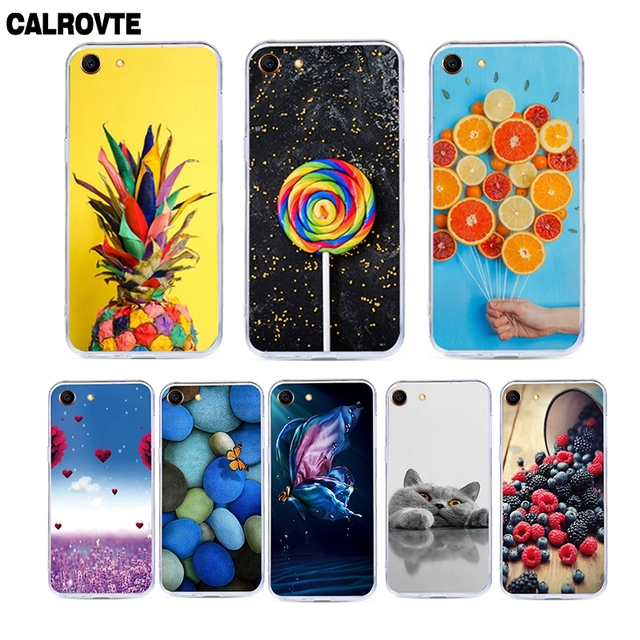 Phone Case For Oppo A83 Case For Oppo A1 Cases Silicone Soft TPU Back Covers Painting Flower Fruit Animals Cute Patterned