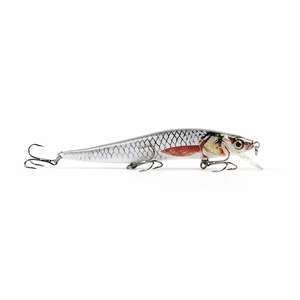 4 7 artificial minnow fishing lure realistic paint for Fishing lure paint