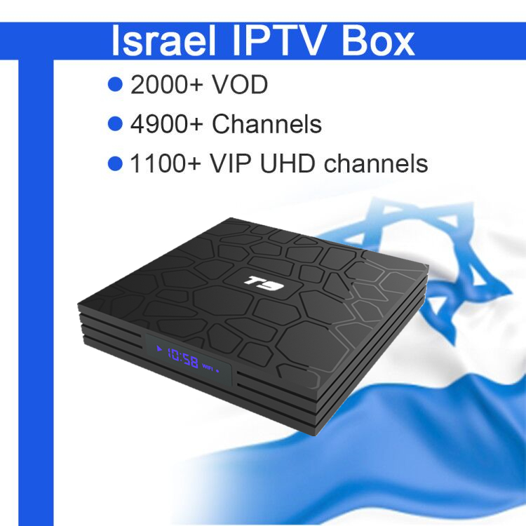 GOTiT Israel T9 Android8 1 TV Box 4G 32G RK3328 Dual WiFi 5000 Live World Pro