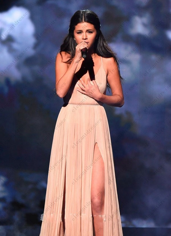 conew_selena_gomez_champagne_evening_dress_2014_american_music_awards_1