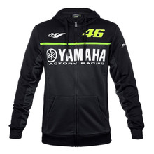 2017 Black MotoGP 46 Valentino Rossi VR46 jacket For Yamaha M1 Racing men's Hoodie Adult Hoodie Sports Sweatshirt Jackets S-XXL
